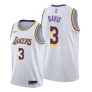 Los Angeles Lakers Anthony Davis White Jersey